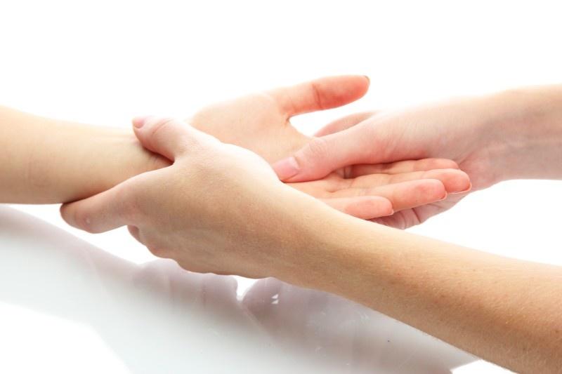 Orthopädie und Handtherapie - manuelle Behandlung von Gelenken und Muskulatur